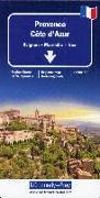 Cover-Bild zu Provence-Côte d'Azur. 1:200'000 von Hallwag Kümmerly+Frey AG (Hrsg.)