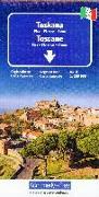 Cover-Bild zu Toskana Nr. 08 Regionalkarte Italien 1:200 000. 1:200'000 von Hallwag Kümmerly+Frey AG (Hrsg.)