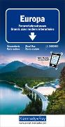 Cover-Bild zu Europa Fernverkehrsstrassen. 1:3'600'000 von Hallwag Kümmerly+Frey AG (Hrsg.)