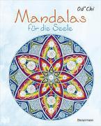 Cover-Bild zu Mandalas für die Seele - 60 handgezeichnete Kunstwerke für mehr Achtsamkeit und Kreativität. Das entspannende Ausmalbuch von Od*Chi