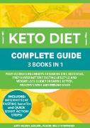 Cover-Bild zu Keto Diet Complete Guide: 3 Books in 1 (eBook) von Adams, Amy Maria