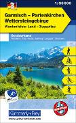 Cover-Bild zu Garmisch Partenkirchen Wettersteingebirge Nr. 03, Outdoor Deutschland, 1:35 000. 1:35'000 von Hallwag Kümmerly+Frey AG (Hrsg.)