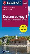 Cover-Bild zu Fahrrad-Tourenkarte Donauradweg 1, Von Donaueschingen nach Passau. 1:50'000 von KOMPASS-Karten GmbH (Hrsg.)