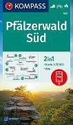 Cover-Bild zu KOMPASS Wanderkarte Pfälzerwald Süd. 1:25'000 von KOMPASS-Karten GmbH (Hrsg.)