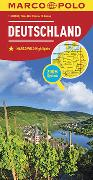 Cover-Bild zu MARCO POLO Länderkarte Deutschland 1:800 000. 1:800'000