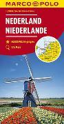 Cover-Bild zu MARCO POLO Karte Niederlande 1:200 000. 1:200'000