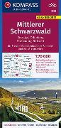 Cover-Bild zu KOMPASS Fahrradkarte Mittlerer Schwarzwald, Kinzigtal, Offenburg, Strasbourg 3368. 1:70'000 von KOMPASS-Karten GmbH (Hrsg.)