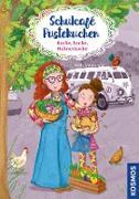 Cover-Bild zu Schulcafé Pustekuchen, 2, Backe, backe, Hühnerkacke (eBook) von Naumann, Kati
