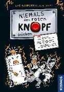 Cover-Bild zu Niemals den roten Knopf drücken, 2, oder die Roboter greifen an von Naumann, Kati
