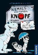 Cover-Bild zu Niemals den roten Knopf drücken 3, oder die Dinos drehen durch! (eBook) von Naumann, Kati
