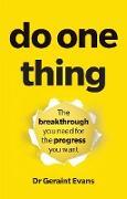 Cover-Bild zu Do One Thing PDF eBook (eBook) von Evans, Geraint
