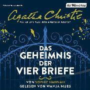 Cover-Bild zu Das Geheimnis der vier Briefe (Audio Download) von Christie, Agatha
