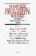 Cover-Bild zu Wissenschaft und Politik von Heisenberg, Werner (Hrsg.)