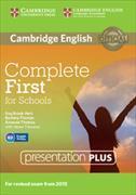 Cover-Bild zu Complete First for Schools Presentation Plus DVD-ROM von Brook-Hart, Guy