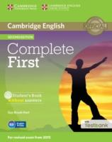 Cover-Bild zu Complete First Student's Book Without Answers with CD-ROM with Testbank von Brook-Hart, Guy