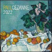 Cover-Bild zu Paul Cézanne 2022 - Wand-Kalender - Broschüren-Kalender - 30x30 - 30x60 geöffnet - Kunst-Kalender von Cézanne, Paul
