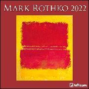 Cover-Bild zu Mark Rothko 2022 - Wand-Kalender - Broschüren-Kalender - 30x30 - 30x60 geöffnet - Kunst-Kalender von Rothko, Mark