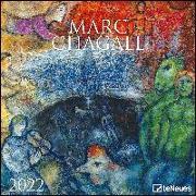 Cover-Bild zu Marc Chagall 2022 - Wand-Kalender - Broschüren-Kalender - 30x30 - 30x60 geöffnet - Kunst-Kalender von Chagall, Marc