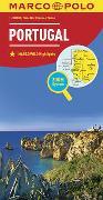 Cover-Bild zu MARCO POLO Länderkarte Portugal 1:300 000. 1:300'000
