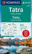 Cover-Bild zu KOMPASS Wanderkarte Tatra Hohe, Belaer, Tatry, Vysoké, Belianske. 1:25'000 von KOMPASS-Karten GmbH (Hrsg.)