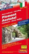 Cover-Bild zu Piemont-Aostatal MotoMap Motorradkarte 1:250 000 / 1:650 000. 1:250'000 von Hallwag Kümmerly+Frey AG (Hrsg.)