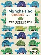 Cover-Bild zu Manche sind anders... Postkarten-Buch von Teckentrup, Britta