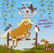 Cover-Bild zu Die Haferhorde - Teil 3: Immer den Nüstern nach! von Kolb, Suza
