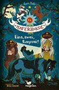 Cover-Bild zu Die Haferhorde - Eins, zwei, Ponyzei! von Kolb, Suza