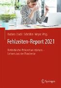 Cover-Bild zu Fehlzeiten-Report 2021 (eBook) von Badura, Bernhard (Hrsg.)