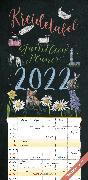 Cover-Bild zu Kreidetafel Familienplaner 2022 - Familien-Timer 22x45 cm - mit Ferienterminen - 5 Spalten - Wand-Planer - mit vielen Zusatzinformationen - Alpha Edition von ALPHA EDITION (Hrsg.)
