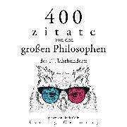 Cover-Bild zu 400 Zitate von den großen Philosophen des 17. Jahrhunderts (Audio Download) von Spinoza, Baruch