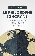 Cover-Bild zu Le Philosophe Ignorant (eBook) von Voltaire