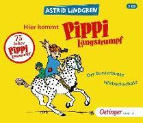 Cover-Bild zu Hier kommt Pippi Langstrumpf! von Lindgren, Astrid