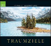 Cover-Bild zu GEO SAISON: Traumziele 2022 - Wand-Kalender - Reise-Kalender - Poster-Kalender - 50x45 von Gruner+Jahr GmbH