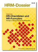 Cover-Bild zu HR-Checklisten und HR-Formulare von Autorenteam