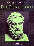 Cover-Bild zu Die Eumeniden (eBook) von Aischylos