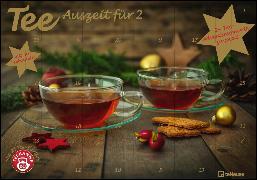 Cover-Bild zu Tee-Adventskalender für Zwei 2022 - Teekalender - Adventskalender - Teesorten - Genusskalender - Advent-für-Zwei - 55,5 x 39 x 2 cm von teNeues Calendars