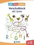 Cover-Bild zu Neubauer, Annette: Die neuen LernSpielZwerge - ABC-Spiele