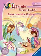 Cover-Bild zu Ben-Arab, Màriam: Emma und das Einhorn - Leserabe ab 1. Klasse - Erstlesebuch für Kinder ab 6 Jahren