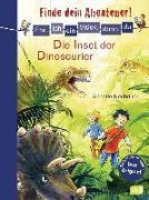 Cover-Bild zu Neubauer, Annette: Erst ich ein Stück, dann du - Finde dein Abenteuer! Die Insel der Dinosaurier