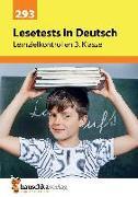 Cover-Bild zu Lesetests in Deutsch - Lernzielkontrollen 3. Klasse, A4- Heft von Widmann, Gerhard