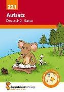Cover-Bild zu Aufsatz Deutsch 2. Klasse von Widmann, Gerhard