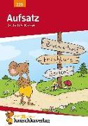Cover-Bild zu Aufsatz Deutsch 4. Klasse von Widmann, Gerhard
