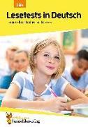 Cover-Bild zu Lesetests in Deutsch - Lernzielkontrollen 4. Klasse von Widmann, Gerhard