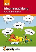 Cover-Bild zu Erlebniserzählung. Aufsatz 4.-5. Klasse (eBook) von Widmann, Gerhard