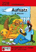 Cover-Bild zu Inhaltsangabe. Aufsatz 7.-9. Klasse (eBook) von Widmann, Gerhard