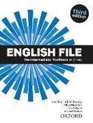 Cover-Bild zu English File: Pre-intermediate. Workbook with key and iChecker von Oxenden, Clive