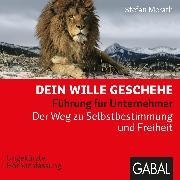 Cover-Bild zu Dein Wille geschehe (Audio Download) von Merath, Stefan