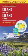 Cover-Bild zu MARCO POLO Länderkarte Island, Färöer 1:650 000. 1:650'000