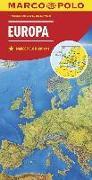 Cover-Bild zu MARCO POLO Länderkarte Europa, physisch 1:2 500 000. 1:2'500'000